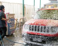 洗車工程03