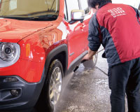 洗車工程01