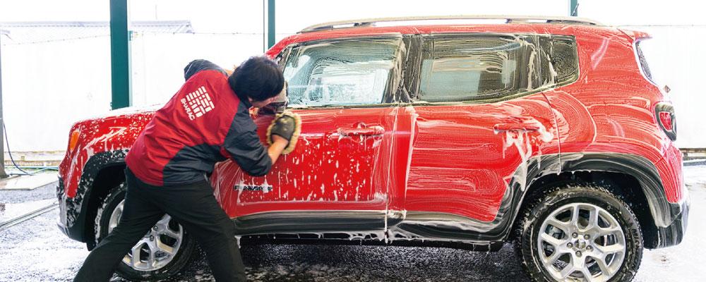 車楽 手洗い洗車